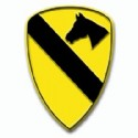 1st Cavalry Division Insignia Magnet