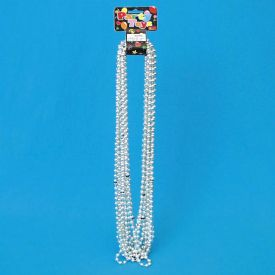 Bead Necklace Wholesale - Silver
