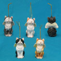 Angel Cat Figurine Ornaments