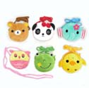Zipper Purse - Animal Assortment