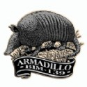 Custom Printed Refrigerator Magnets Armadillo