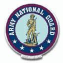 Army National Guard Refrigerator Magnet