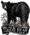 Imprint Magnet Black Bear