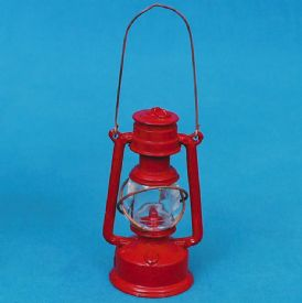 Diecast Pencil Sharpener Oil Lantern Red