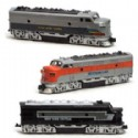 Diecast Toy Train