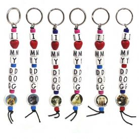 Closeout Dog Keychains