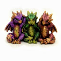 Dragon Figurine - No Evil