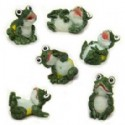 Miniature Frog Figurines