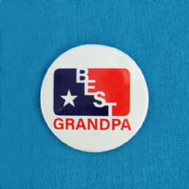 Grandpa Gift Button