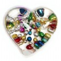 Heart Paperweight Pen Holder