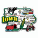 Souvenir Magnets Iowa
