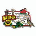 Souvenir Magnets Kansas