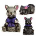 Set Of 3 Mice Figures Is 1 Piece