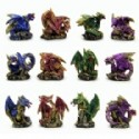 Miniature Dragon Figurines