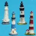 Miniature Lighthouse Figurines