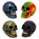 Miniature Skull Figurines