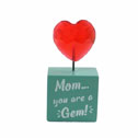 Mom Gift Heart Gem Stand