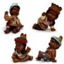 Native American Kids Figurines