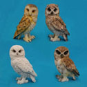 Owl Figurines