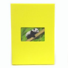 Notebook With 3D Panda Image