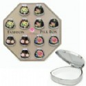 Pill Boxes - Floral Design