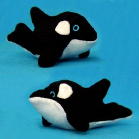 Stuffed Toy Orca Whale