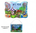 Closeout Kids Puzzle With Amusement Park Scene