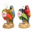 Macaw Figurine With Rain Gauge