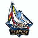 Imprint Magnet Sailboat