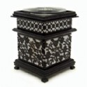 Scented Oil Warmer - Floral Design
