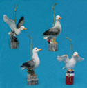 Seagull Figurine Ornaments