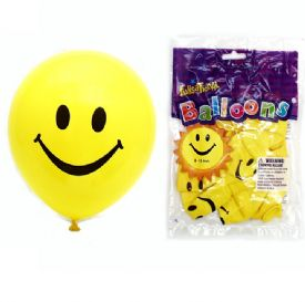 Smiley Face Balloons - Bag is 1 Piece