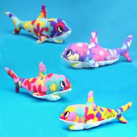 Stuffed Toy Sharks