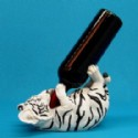 White Tiger Cub Wine Bottle Holder