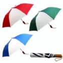 Folding Umbrella With Stripes
