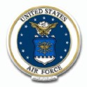 United States Air Force Refrigerator Magnet
