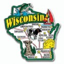 Souvenir Magnets Wisconsin