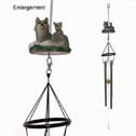 Wolf Wind Chime