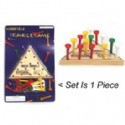 Wooden Triangle Game Set Is 1 Piece