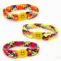 Woven Nylon Multi Color Bracelet